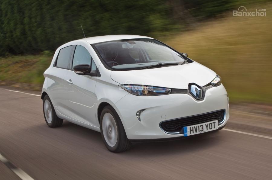 Đánh giá xe Renault ZOE 1