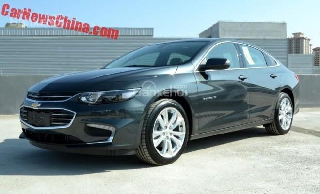 Chevrolet Malibu XL lộ diện tại Trung Quốc.