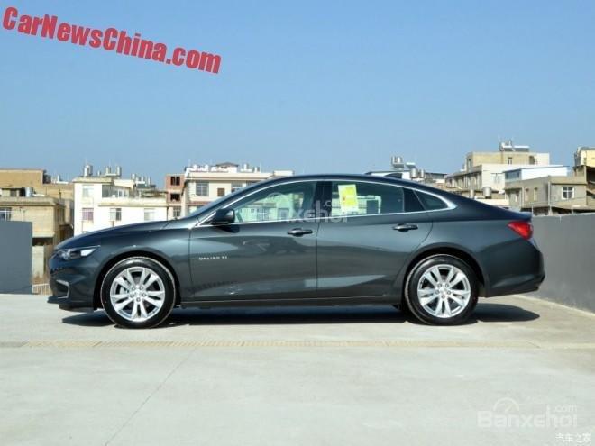 Chevrolet Malibu XL lộ diện tại Trung Quốc 1