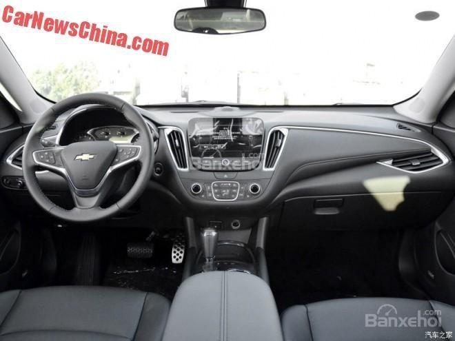 Chevrolet Malibu XL lộ diện tại Trung Quốc 3