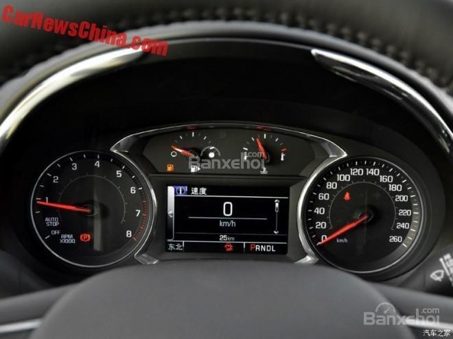 Chevrolet Malibu XL lộ diện tại Trung Quốc 4
