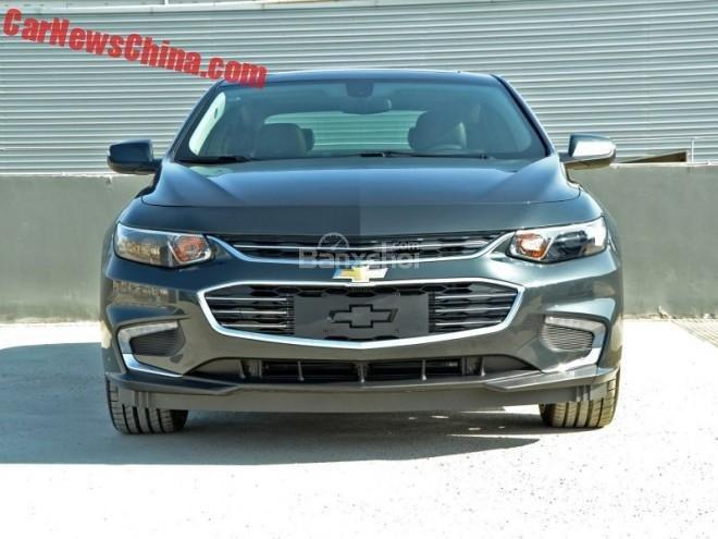 Chevrolet Malibu XL lộ diện tại Trung Quốc 11