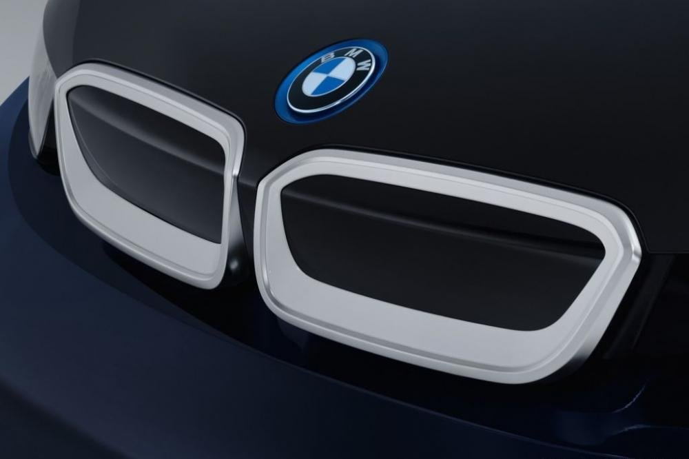 Cận cảnh BMW i3 MR Porter Edition màu xanh Tuxedo sắp ra mắt Geneva Motor Show 2016 2
