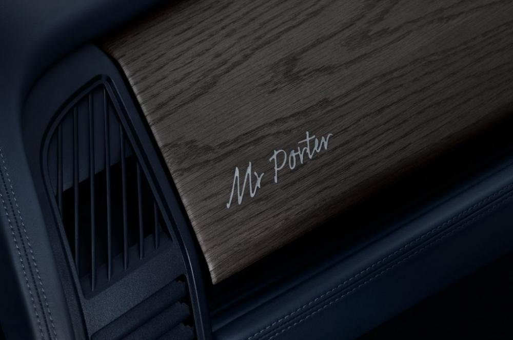 Cận cảnh BMW i3 MR Porter Edition màu xanh Tuxedo sắp ra mắt Geneva Motor Show 2016 4