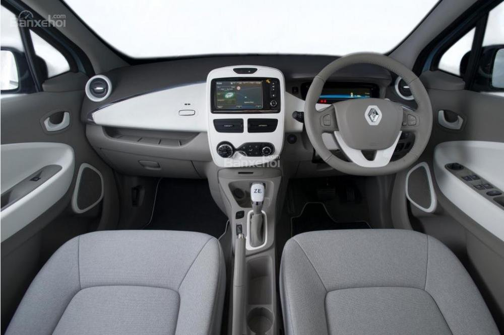 Đánh gia xe Renault ZOE phần nội thất 1