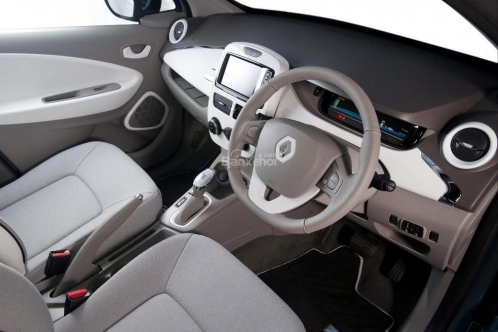 Đánh gia xe Renault ZOE phần nội thất 3