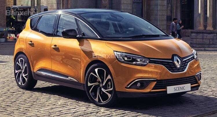 Renault Scenic 2017 bật mí ảnh chính thức trước thềm triển lãm Geneva.