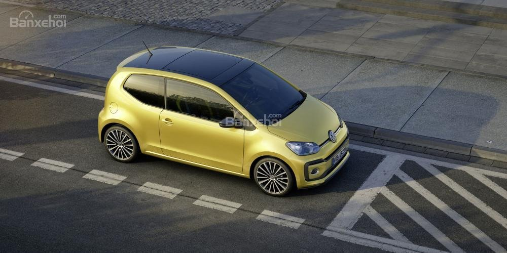 Volkswagen Up được nâng cấp với động cơ mạnh mẽ và thiết kế sắc sảo 2