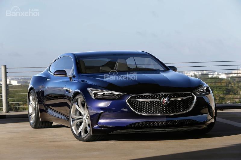 Buick Avista concept hiện thực hóa thành mẫu coupe 4 cửa 1