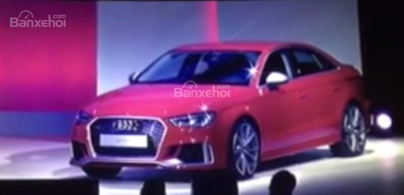 Audi RS3 sedan 2018 sẽ ra mắt với sức mạnh 400 mã lực?