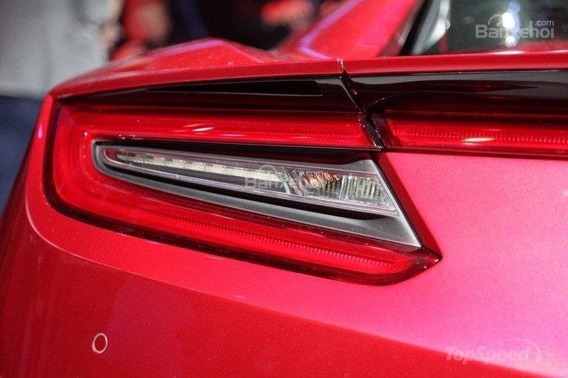 Đánh giá xe Acura NSX 2016: Tích hợp công nghệ LED