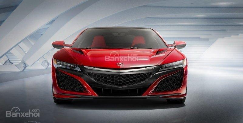 Đánh giá xe Acura NSX 2016: Lưới tản nhiệt lớn
