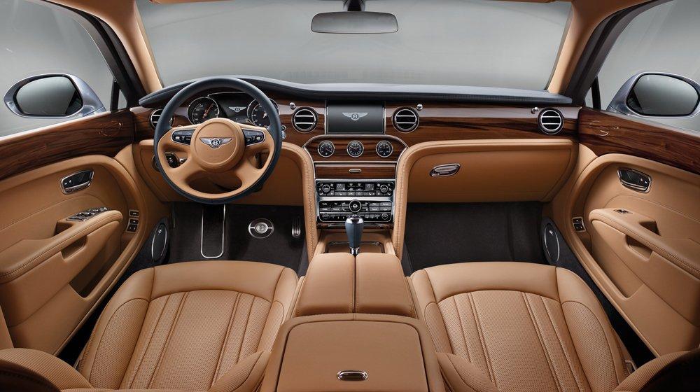 Bentley Mulsanne 2017.