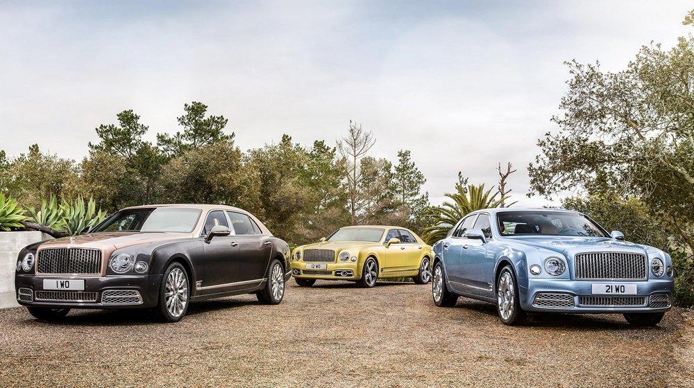 Bentley Mulsanne 2017 lộ diện, thêm bản trục cơ sở kéo dài.