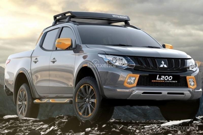 Mitsubishi L200 và ASX GEOSEEK sẽ trình làng vào đầu tuần sau tại triển lãm xe hơi Geneva 2016