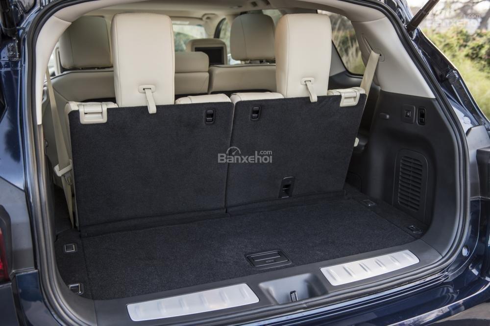 Infiniti QX60 2016 khoang hành lý