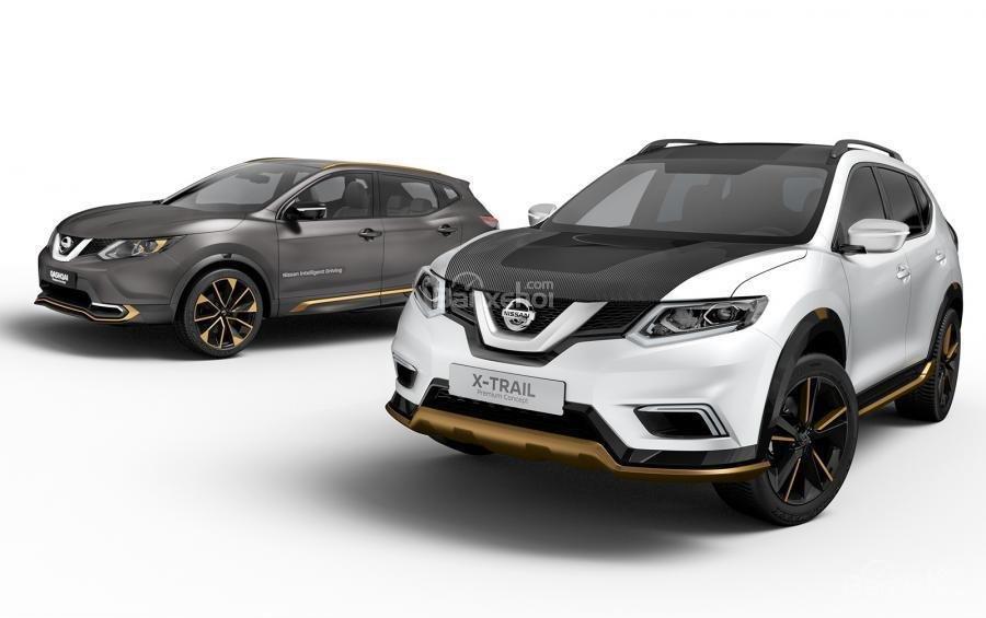 Nissan Qashqai và X-Trail concept mới chuẩn bị ra mắt tại Geneva