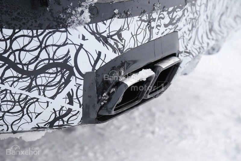 Soi chi tiết Mercedes-AMG E63 trên đường thử nghiệm 8