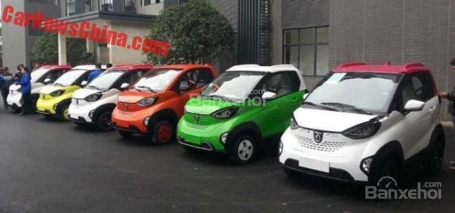 Xe điện Baojun E100 sắp bán ra tại Trung Quốc.