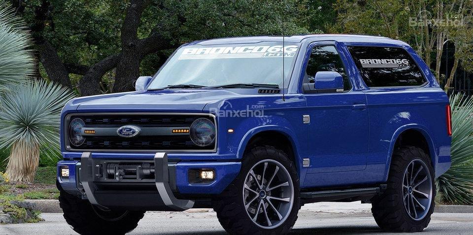 Ford Bronco 2019 lộ diện.