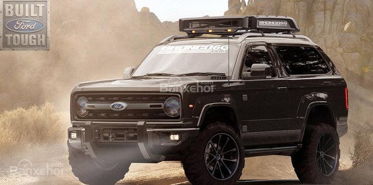Ford Bronco 2019 lộ diện 2