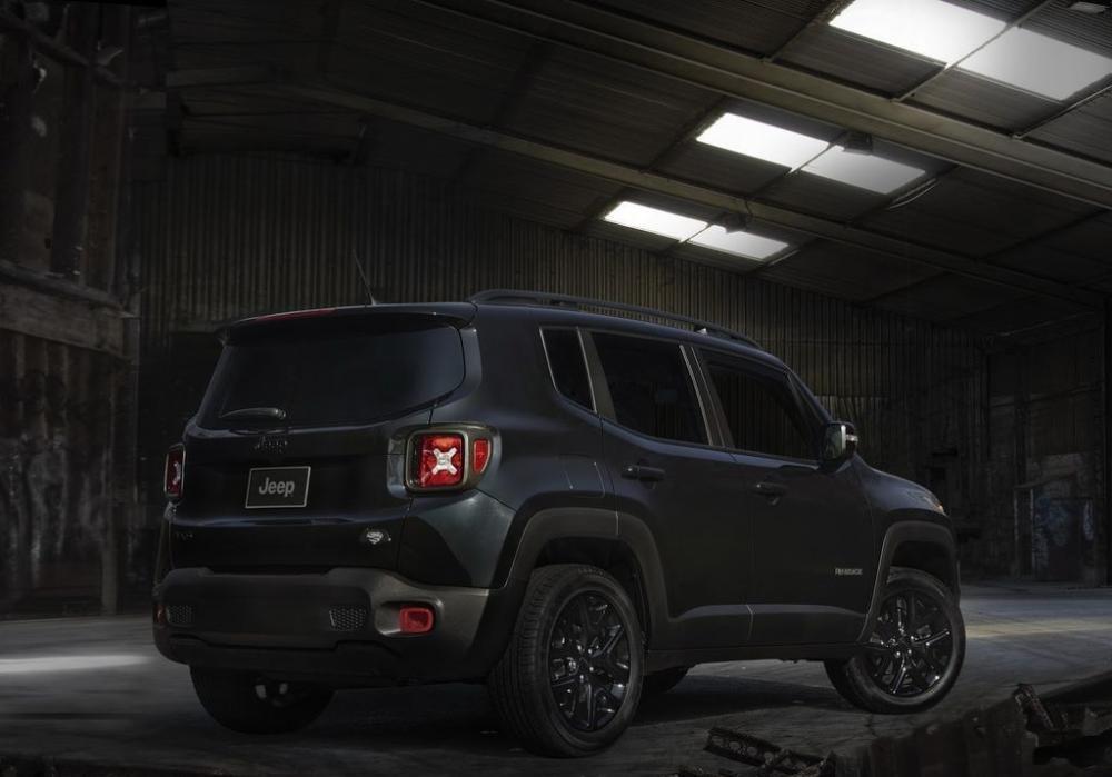 Phiên bản đặc biệt Jeep Renegade Dawn of Justice 2016 2