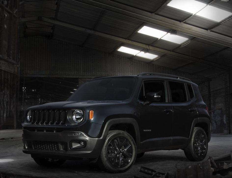 Phiên bản đặc biệt Jeep Renegade Dawn of Justice 2016 1