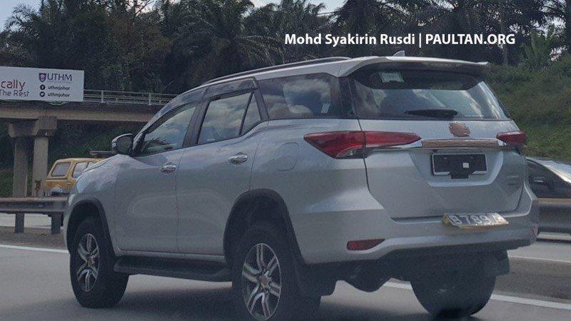 Toyota Fortuner 2016 lộ diện tại Malaysia, sẽ ra mắt thị trường Việt Nam? 1