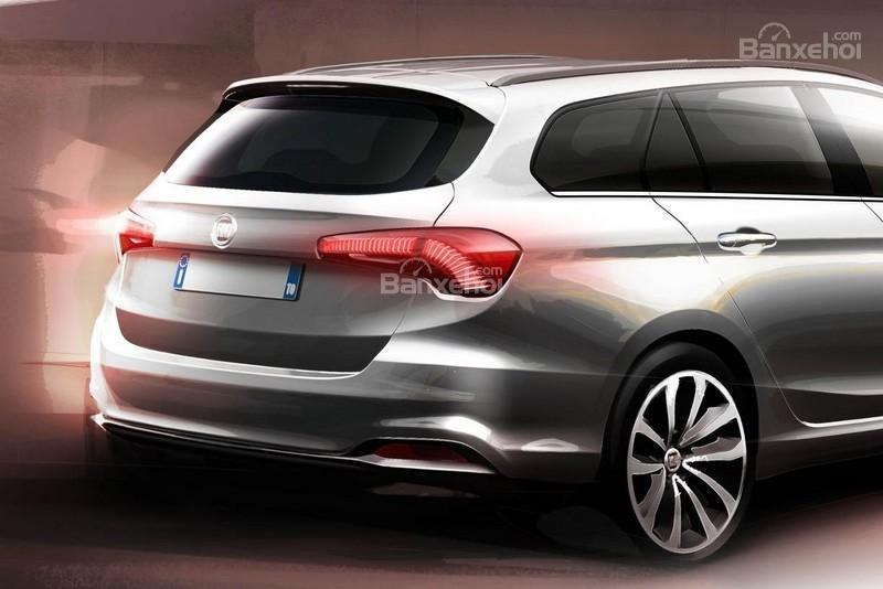 Fiat Tipo SW tung ảnh teaser chính thức đầu tiên.