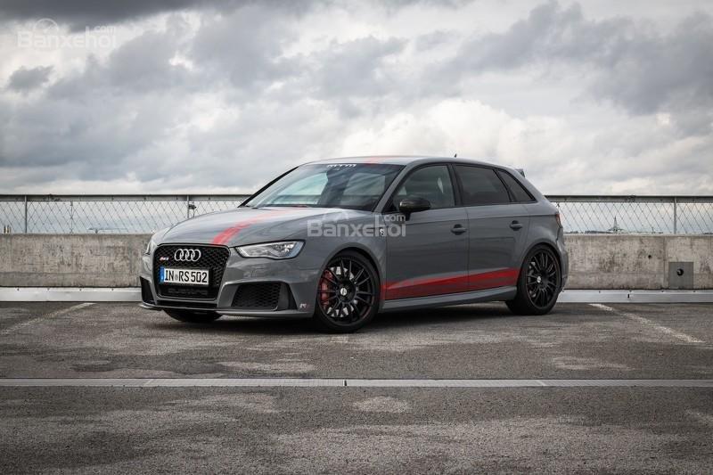 MTM đưa Audi RS3 độ mạnh hơn 500 mã lực tham dự triển lãm Geneva 2016.