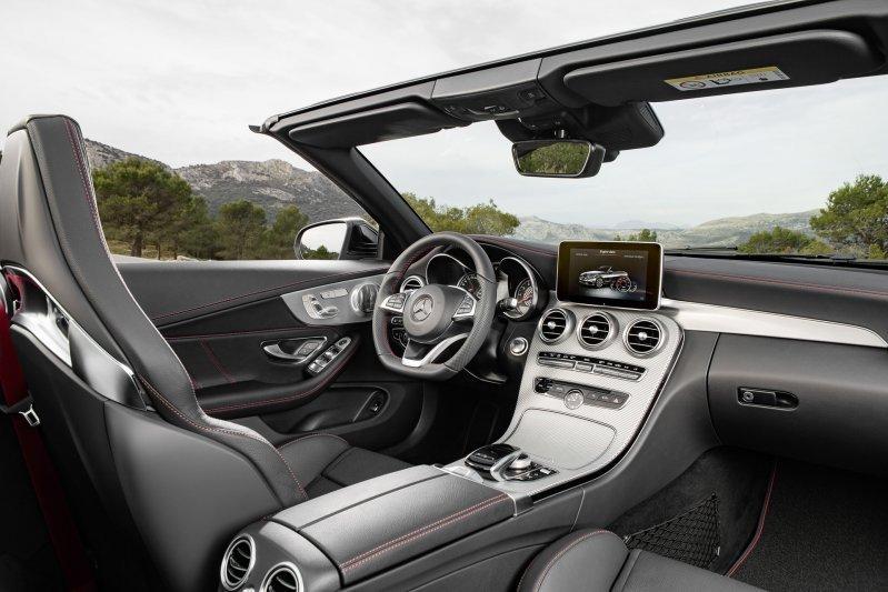 Mercedes-Benz C-Class mui trần công bố hình ảnh chính thức 21