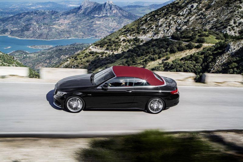 Mercedes-Benz C-Class mui trần công bố hình ảnh chính thức 9