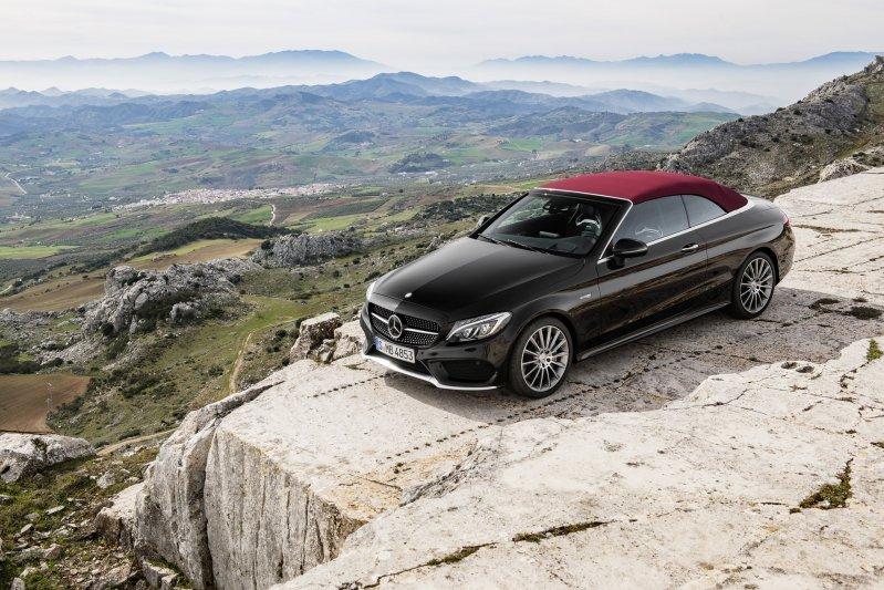 Mercedes-Benz C-Class mui trần công bố hình ảnh chính thức 18