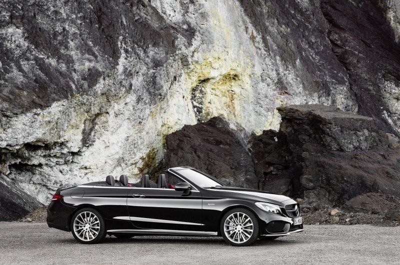 Mercedes-Benz C-Class mui trần công bố hình ảnh chính thức 11