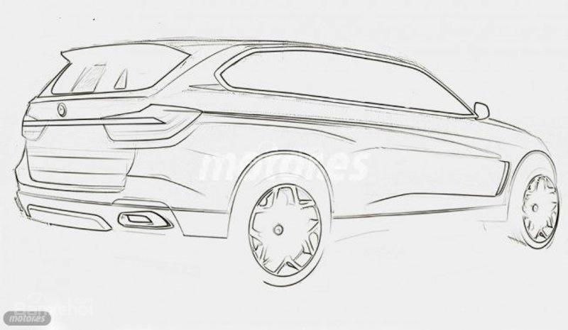 Lộ ảnh chạy thử của BMW X7 2018 1