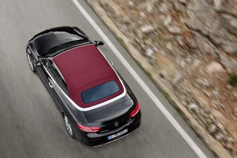 Mercedes-Benz C-Class mui trần công bố hình ảnh chính thức 5