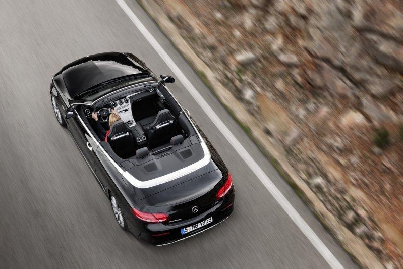 Mercedes-Benz C-Class mui trần công bố hình ảnh chính thức 7