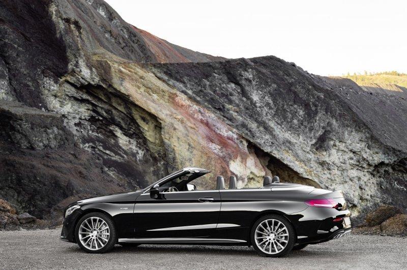 Mercedes-Benz C-Class mui trần công bố hình ảnh chính thức 4
