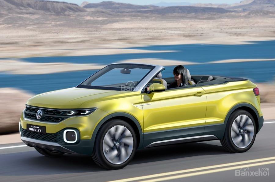 Volkswagen T-Cross Breeze concept sẽ gia nhập phân khúc SUV mui trần 1