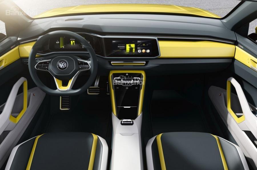 Volkswagen T-Cross Breeze concept mới rò rỉ trước giờ G 2