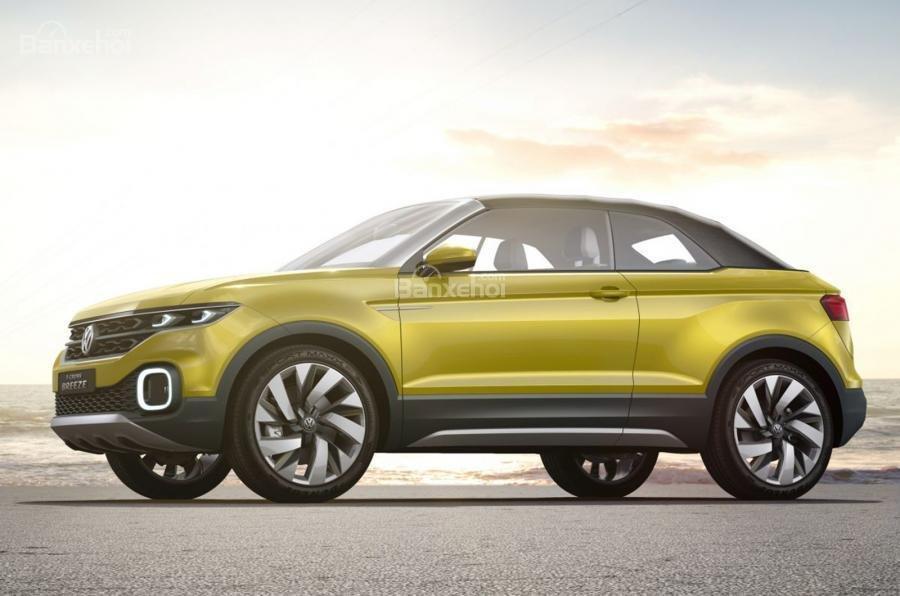 Volkswagen T-Cross Breeze concept mới rò rỉ trước giờ G 1