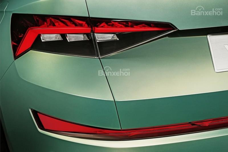 """Skoda VisionS concept: Tân binh SUV """"siêu"""" tiết kiệm 8"""
