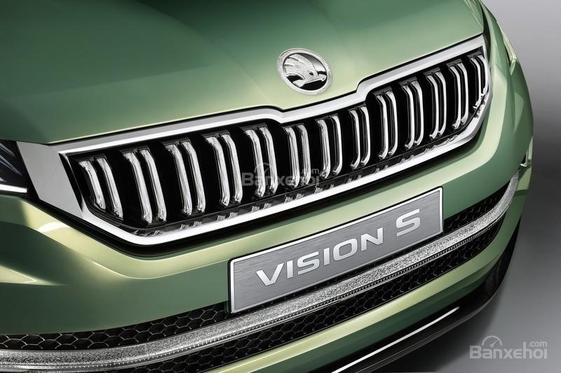"""Skoda VisionS concept: Tân binh SUV """"siêu"""" tiết kiệm 3"""