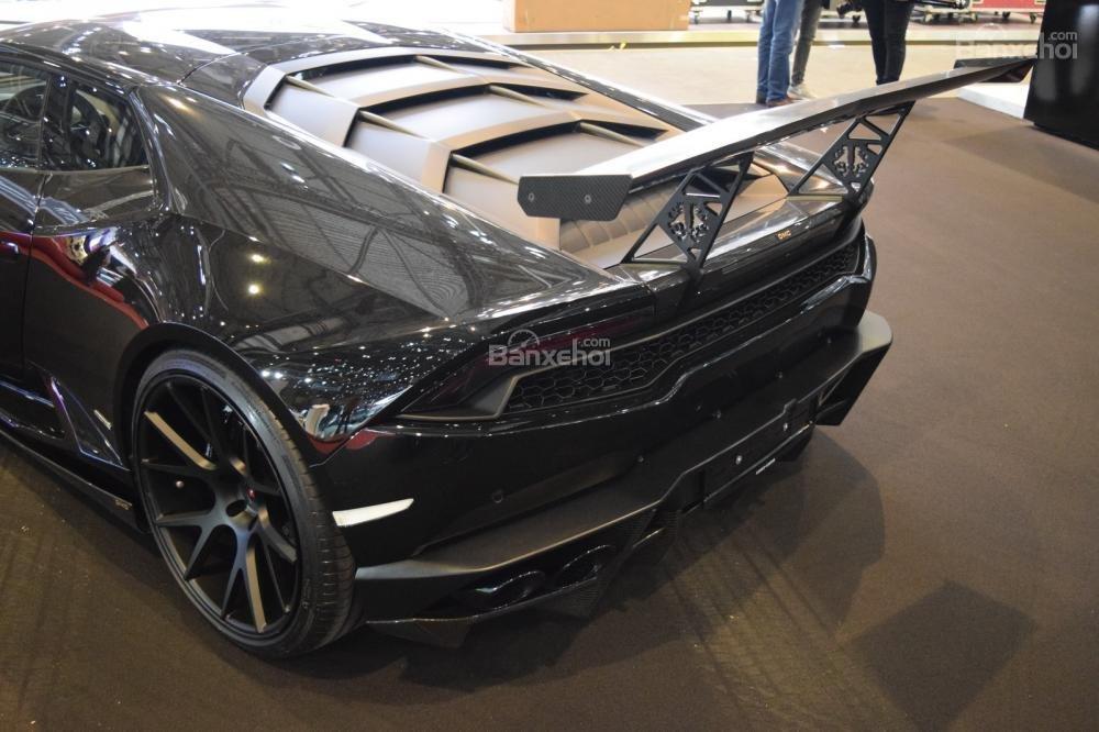 Lamborghini Huracan độ với phong cách nero chói lòa Geneva 7