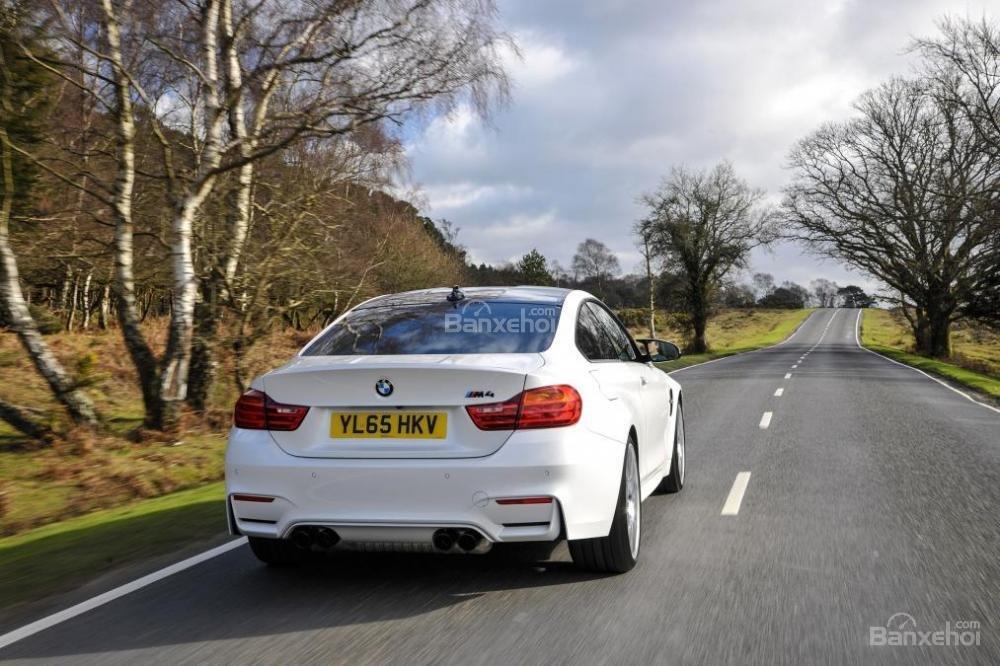 Đánh giá xe BMW M4 Competition Package 2016 phần đuôi 1.