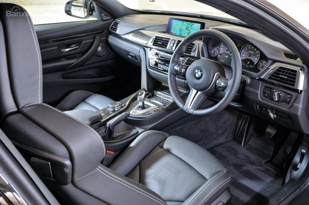 Đánh giá xe BMW M4 Competition Package 2016 phần nội thất 1.
