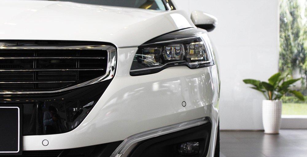 Đánh giá xe Peugeot 508 2015 phần đầu 2.