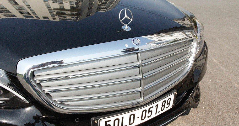 Đánh giá xe Mercedes-Benz C-class 2015 phần đầu 2.