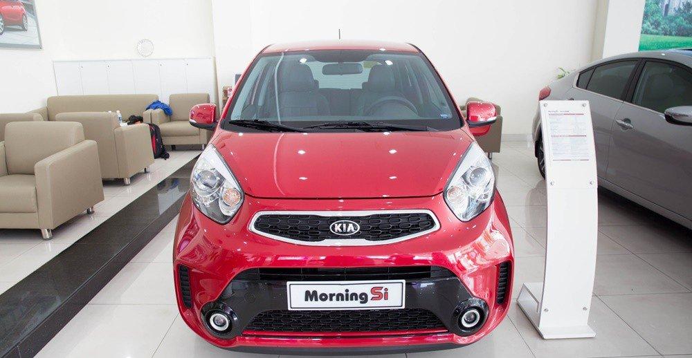 Đánh giá xe KIA Morning SI 2016 phần đầu 1.