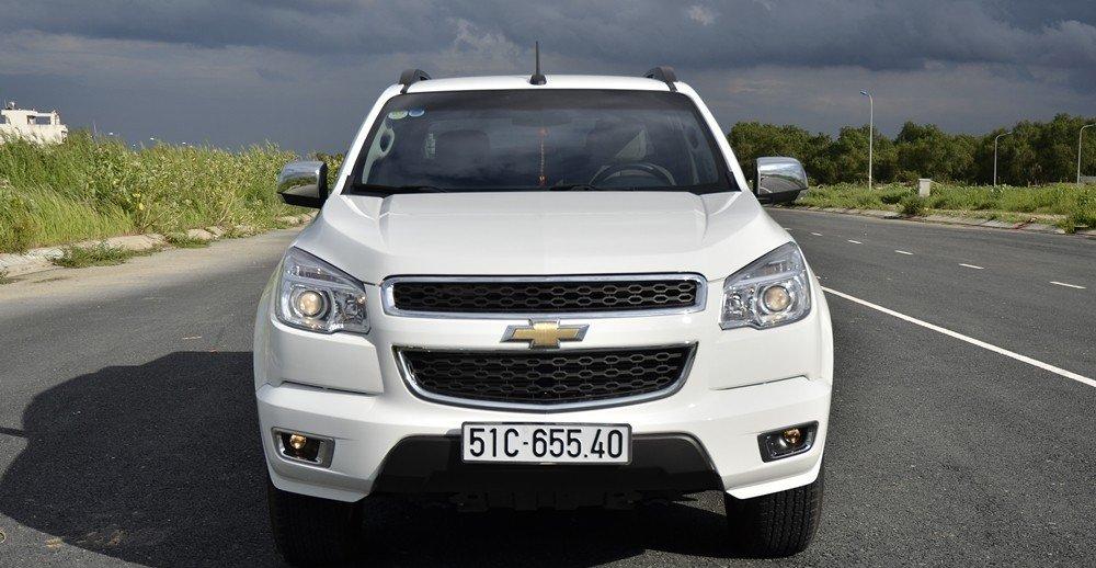 Đánh giá xe Chevrolet Colorado 2015 phần đầu 1.